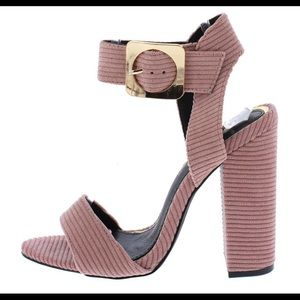 NWB pink heels